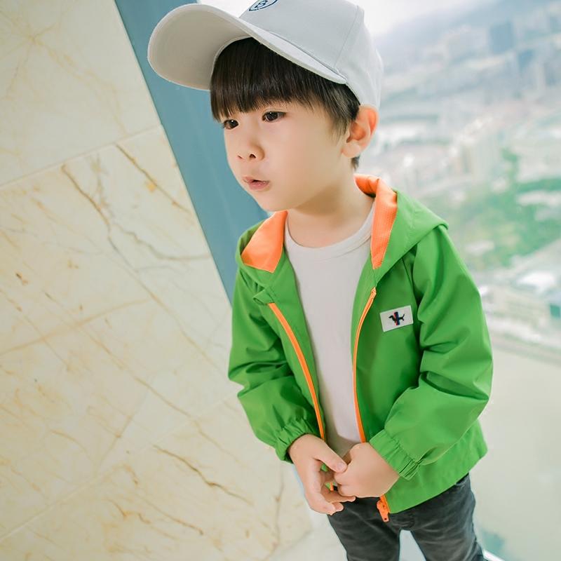 Мальчиков движение куртка пальто весна воздухопроницаемый тонкая модель небольшой ребенок солнцезащитный одежды ребенок быстросохнущие одежда случайный на открытом воздухе одежда