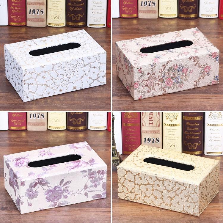 Европейский ящик для дома домашние Простая коробка для рисования с гостиной столовой креативные красивые коробки для салфеток