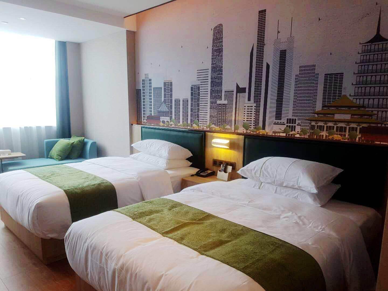 衡阳绿意阳光酒店(常宁店)精致双床房