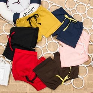 夏季薄款中小兒童短褲男女童純棉熱褲寶寶五分褲子運動外穿沙灘褲