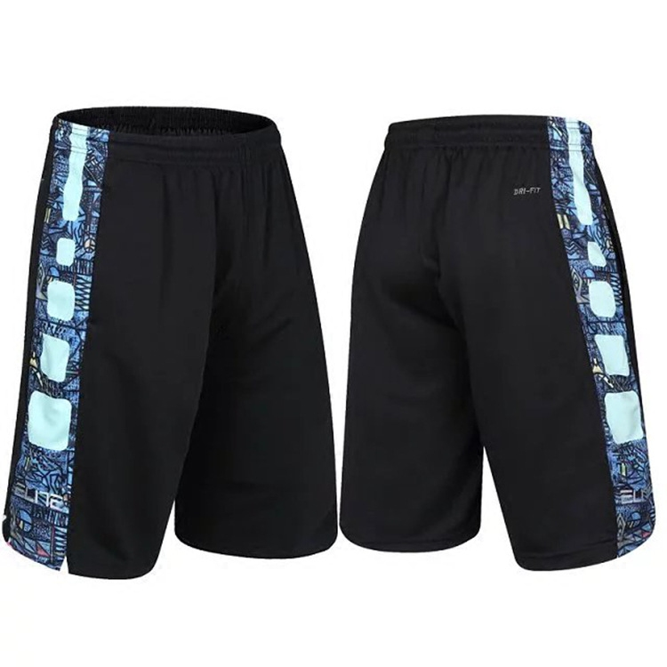 Kobe Black Mamba elite shorts mens basketball thin loose training Capris running oversize