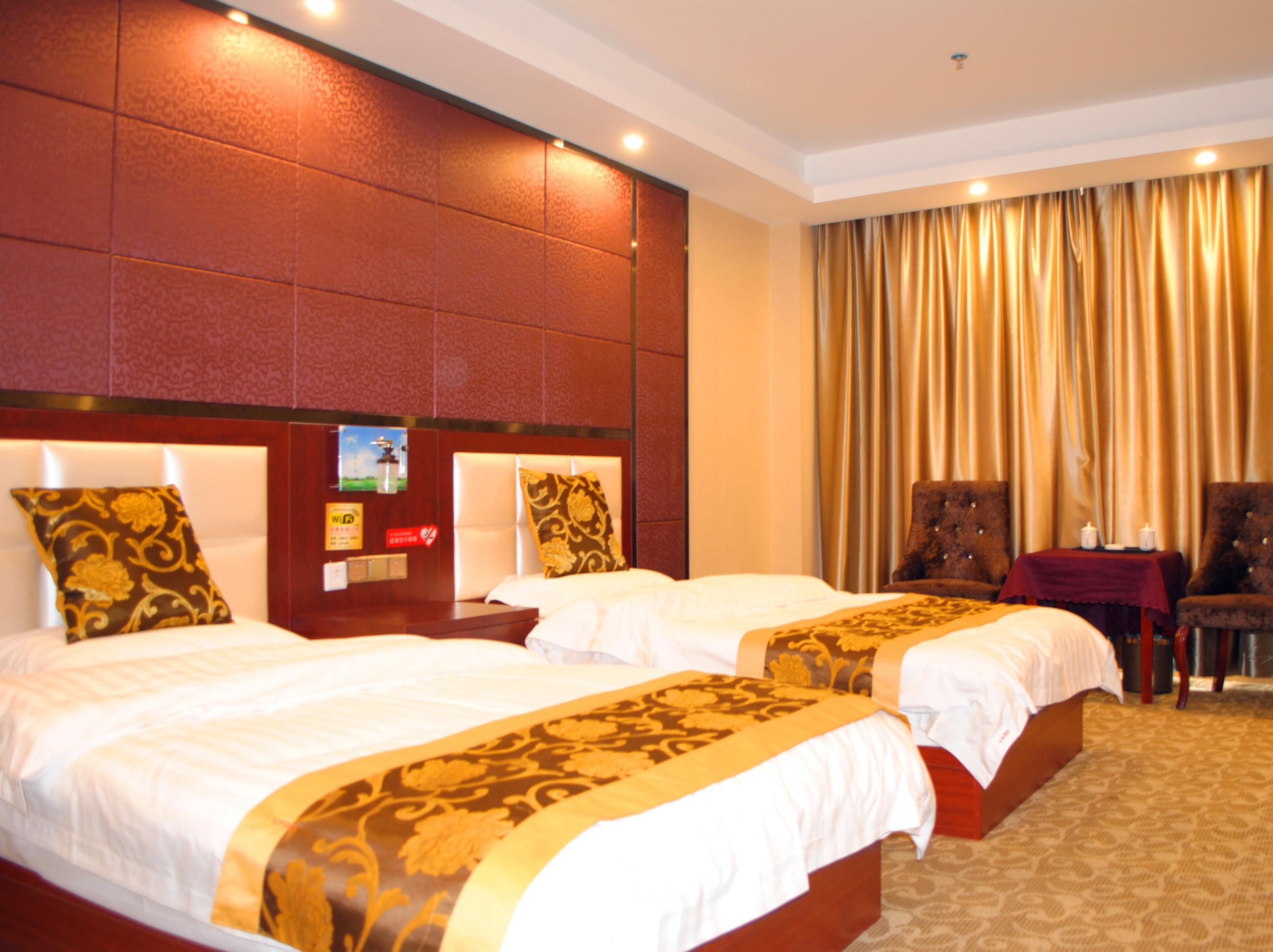 豫亨假日酒店(拉萨布达拉宫店)(原云来酒店)标准有氧双床房-E