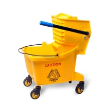 Super Bao 36L Large commercial mop barrel squeezing bucket water tanker Hotel Cleaning MOP car mop bucket cleaning car