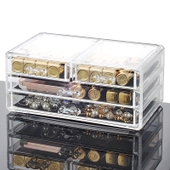 Transparent Cosmetics Storage Case
