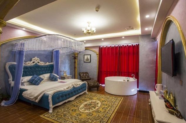 新余520情侣主题酒店罗马之恋图片