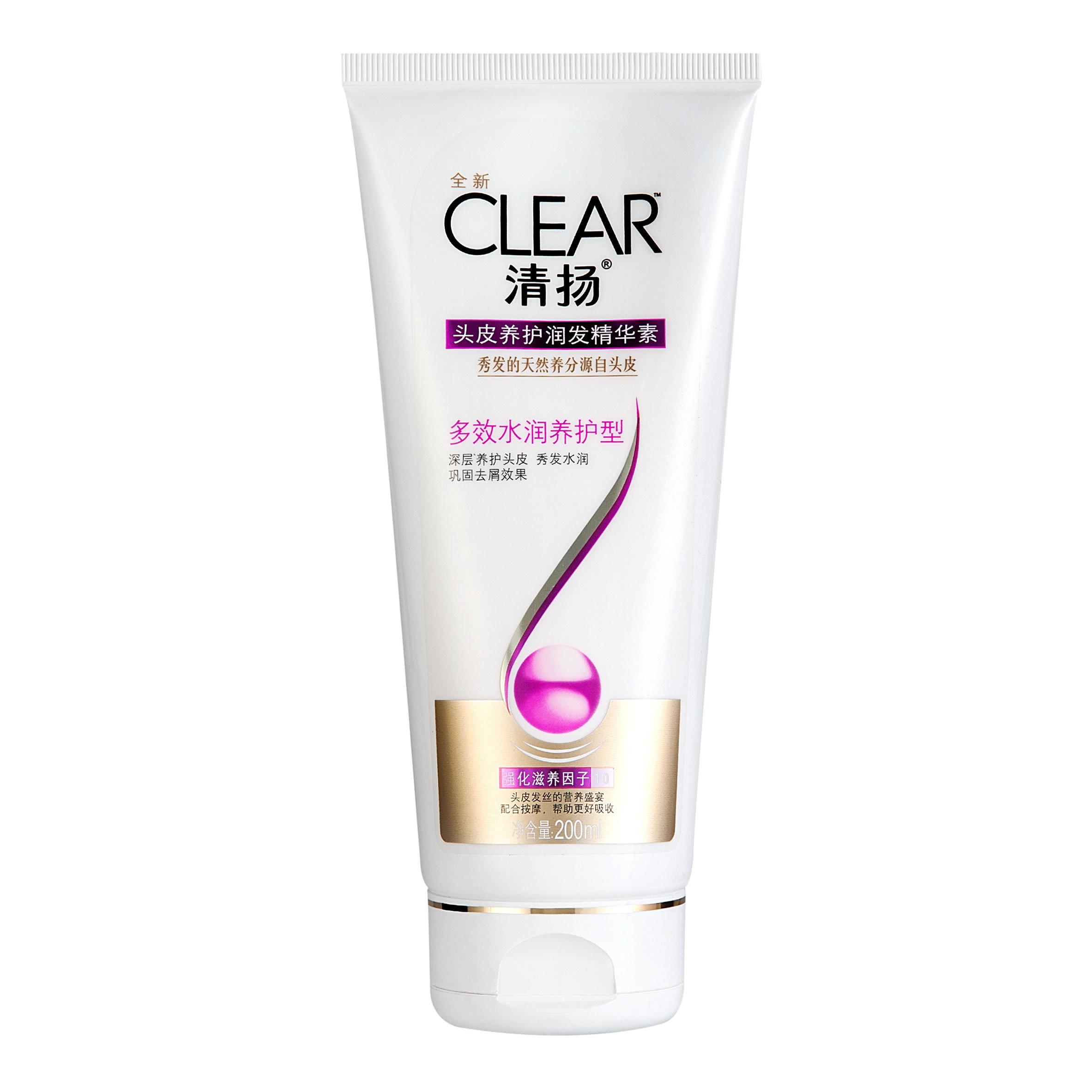 CLEAR 清揚 頭皮養護潤發精華素多效水潤養護型