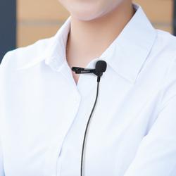 領夾式麥克風迷你小話筒有線臺式筆記本電腦K歌錄音通用MIC直播吃雞游戲胸麥耳麥話筒