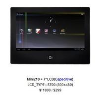 友善之臂Mini210s开发板 S700 7寸电容触摸屏Cortex-A8 S5PV210