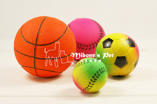 Dog toy basket ball high elastic enough softball and many other styles Color random number