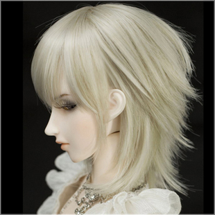 Handmade angel doll doll AS Kobo 3 minutes short platinum hair Alice ASDOLL WG34016