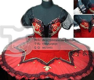 Eiko YI Square Features custom Chaoxuan wild red tutu new 3