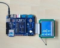 OK-2440-Ⅲ开发板 3.5寸全新真彩触摸LCD 仿真板 配套教程52DVD选