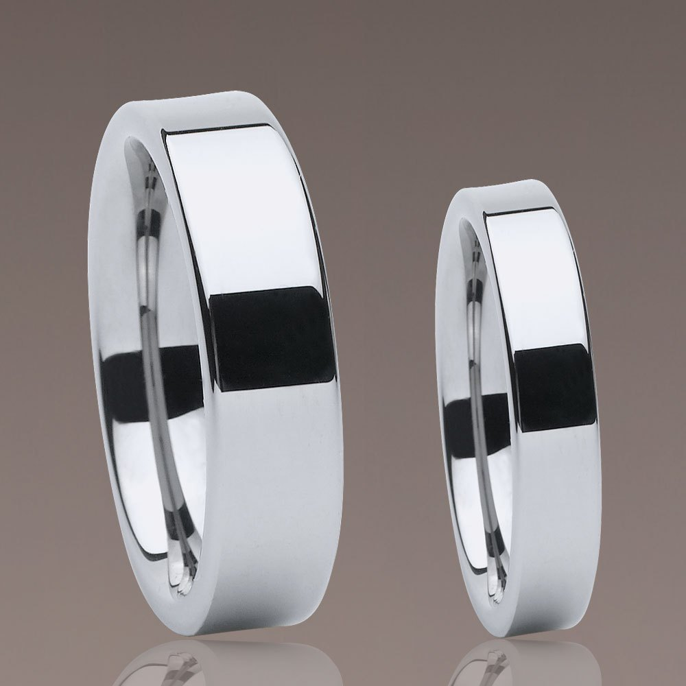 Tungsten ring, couple ring, wedding ring, couple ring 067
