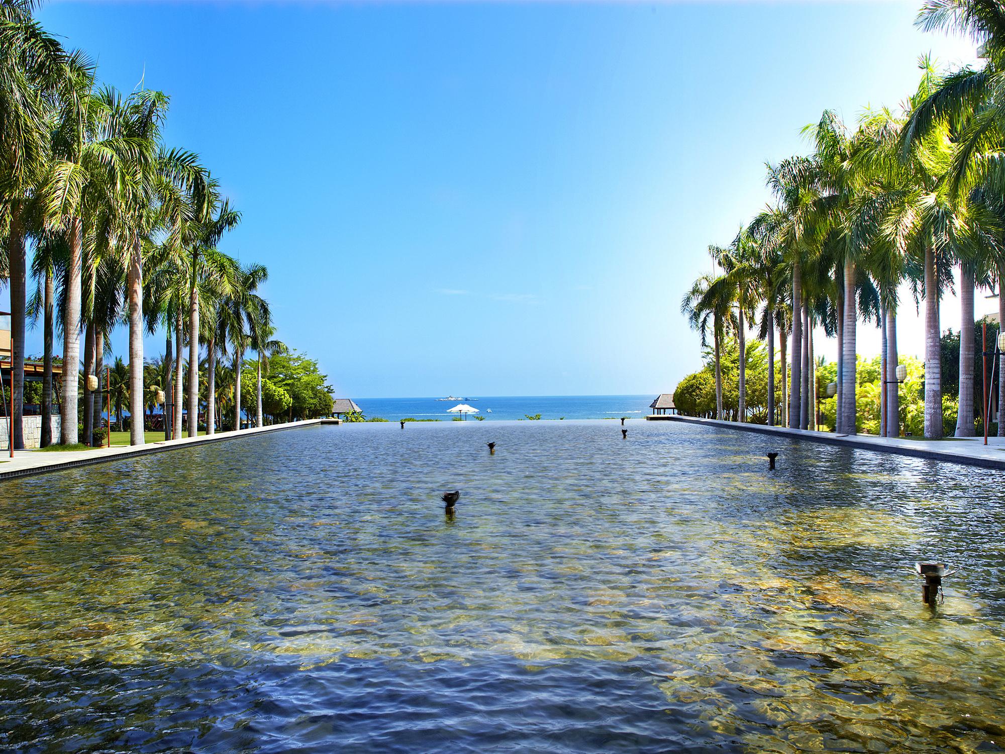 三亚亚龙湾红树林度假酒店超级飞侠亲子海景套房含双早