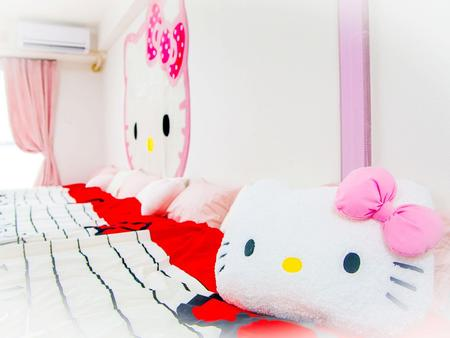 Hello Kitty room in Shinsaibashi & Dotonbori area 901