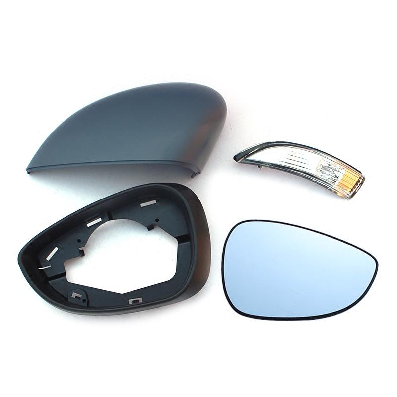 福特新嘉年华倒车镜边框反光镜后盖后视镜片倒车镜转向灯后视镜壳