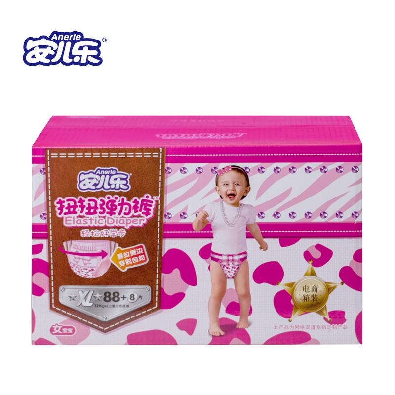 安兒樂 扭扭彈力褲^(女^) XL88 8片