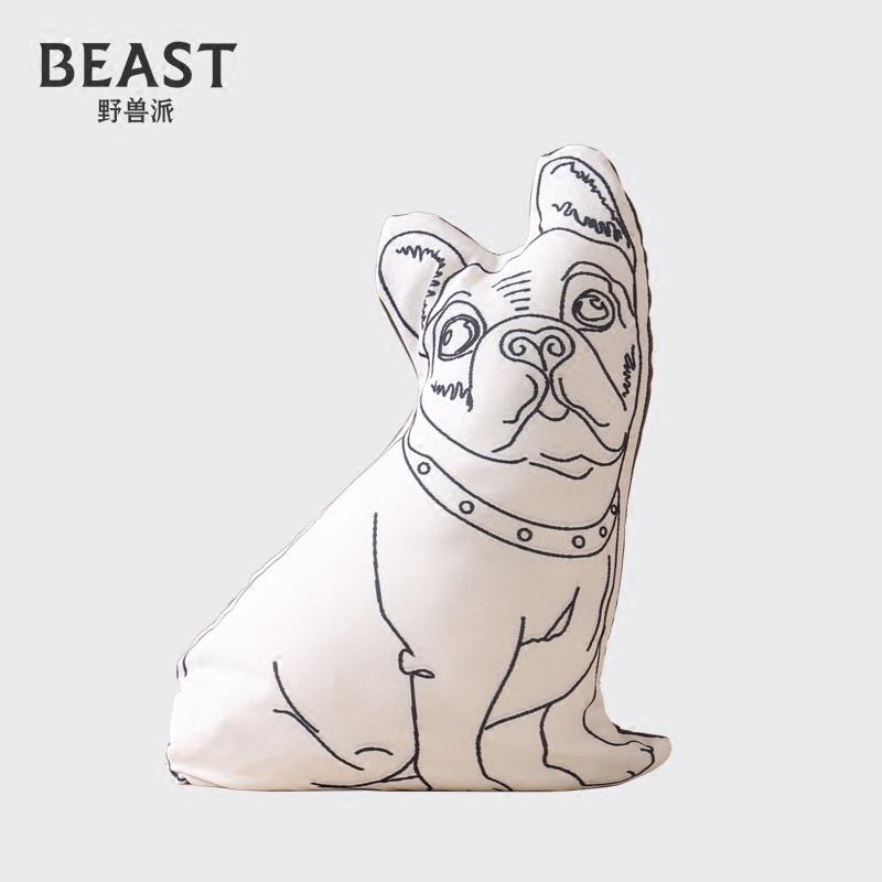 THE BEAST/ дикий зверь пирог реалистичное изображение животное ворота блок резиденция кот смотреть ворота собака творческий украшение