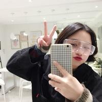 [日系原宿少女] полностью [透明眼] зеркало [凹造型网] красный [拍摄道自拍眼] зеркало [防风护目眼] зеркало [潮]