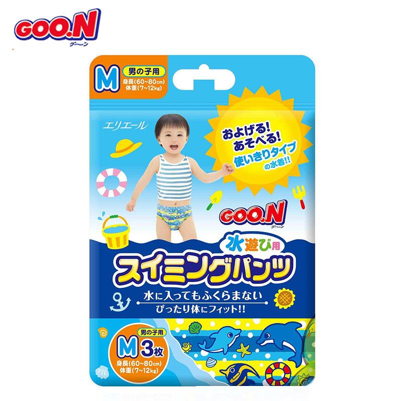 Goo.n! 大王 男寶遊泳褲 M3片