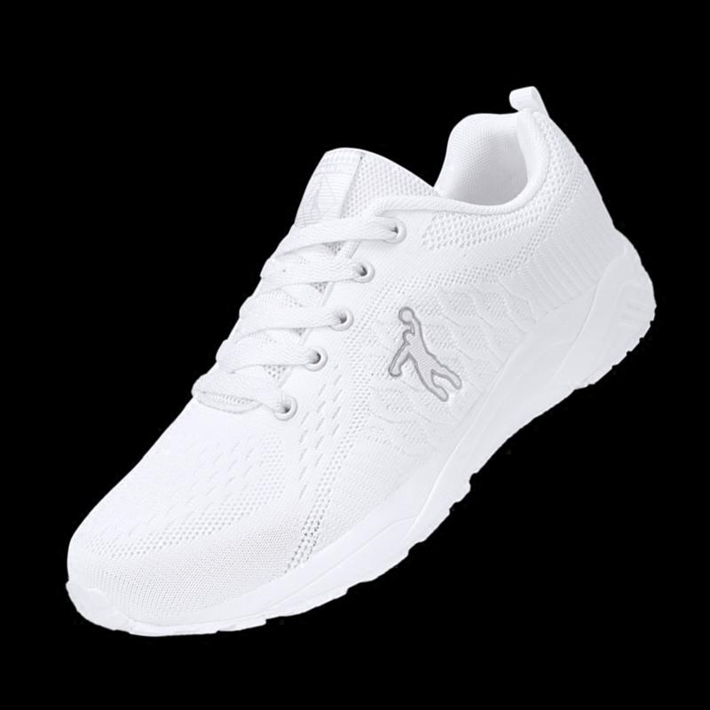 139.00元包邮乔丹格兰跑步鞋2018夏网布女小白鞋