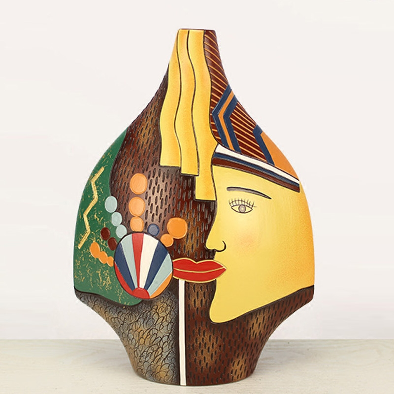 特色家居裝飾品工藝品客廳玄關博古架電視櫃 辦公陶瓷藝術擺件