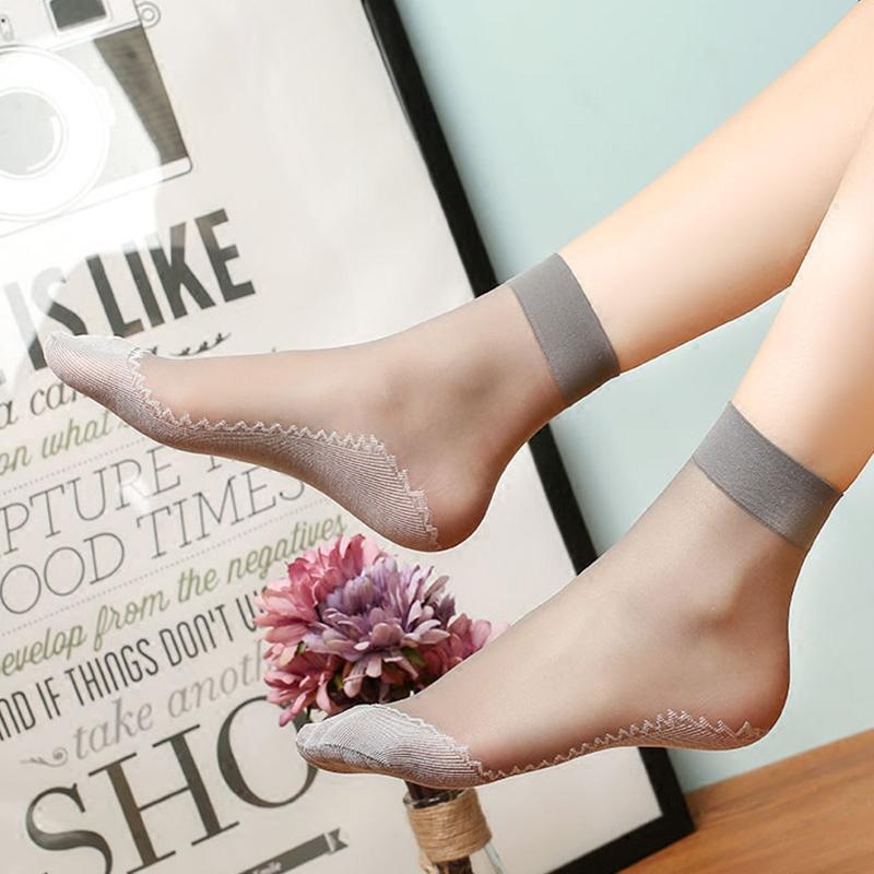 10双夏季女士棉底短丝袜防勾丝肉丝袜丝袜短袜薄款短筒天鹅绒超薄11-10新券