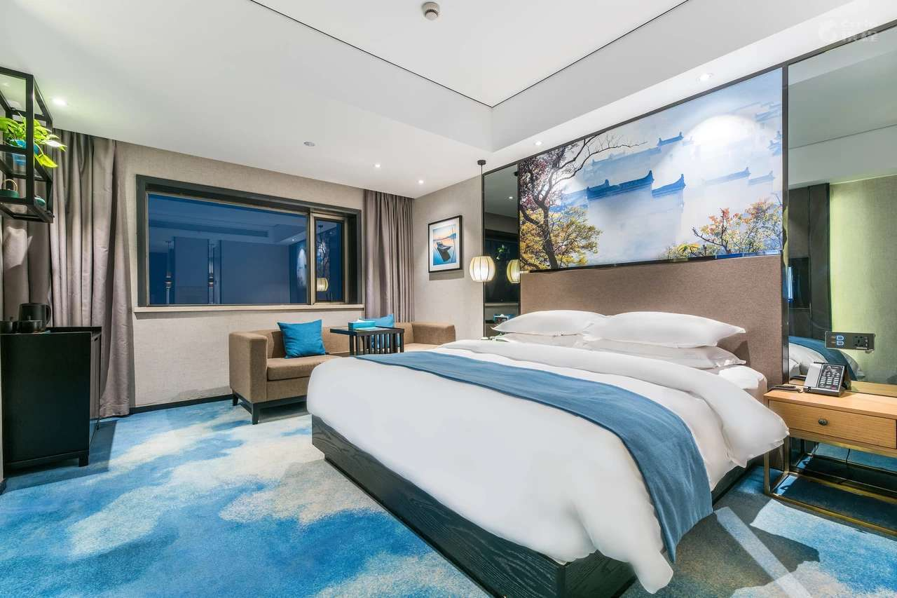 Smart romantic couple room of Hangzhou Manchun International Hotel