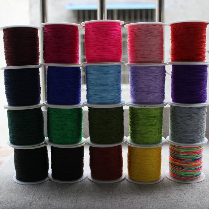 71号线中国结编制材料手镯缠线线材0.4mm玉线diy手工饰品5米价