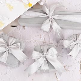 高档丝绒简约首饰盒项链耳环礼物盒手镯手串戒指手链包装礼品盒图片