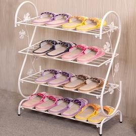 家用简易经济型鞋架子小门口室外多层鞋柜省空间放鞋子的铁艺迷你