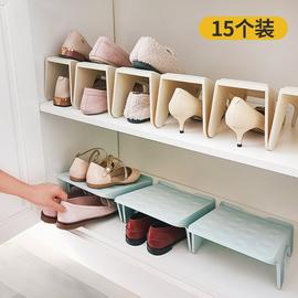 省空间鞋子收纳神器宿舍鞋盒家用鞋柜放透明简易整理箱鞋架收纳盒