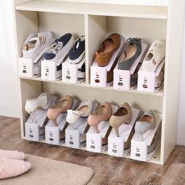 鞋架鞋子收纳神器简易鞋柜家用宿舍省空间双层窄防尘塑料鞋托架子