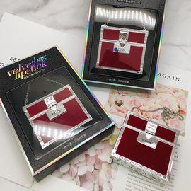 俏美人轻奢天鹅绒链包口红三件套盒套装唇膏限量版滋润雾面款正品