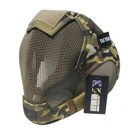 徳毅营 户外战术面具 V6防护面具 护耳  CS野战护脸面具图片