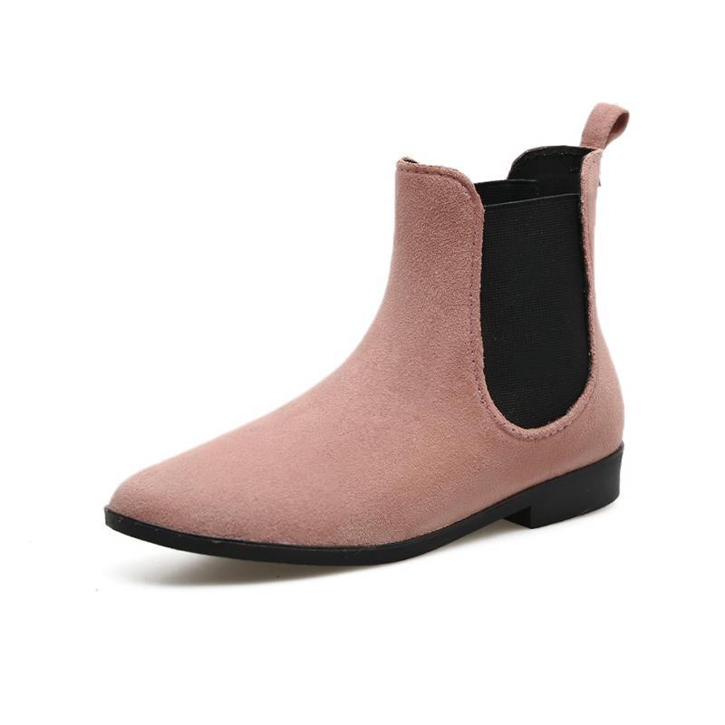 雨靴女韓國成人防水鞋防滑雨鞋短筒膠鞋 學生套腳鞋絨布短靴