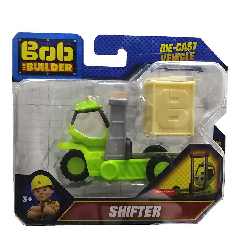 費雪巴布工程師建築車輛套裝CJG91思庫馬克合金工程車兒童玩具