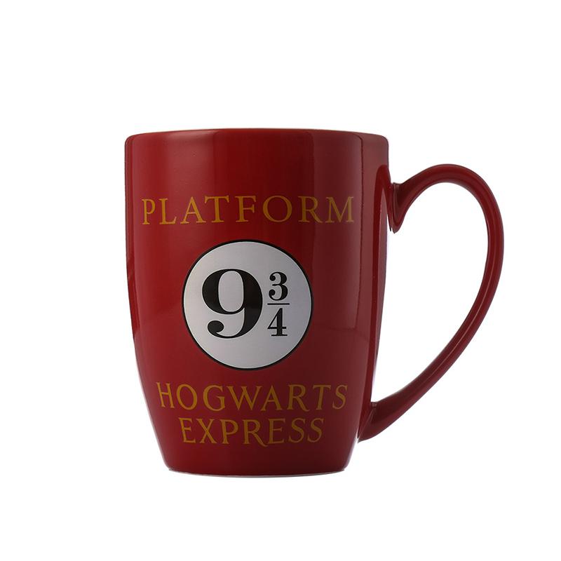 神奇動物2 哈利波特九又四分之三站台馬克杯陶瓷杯咖啡杯340ml新骨瓷水杯咖啡杯子