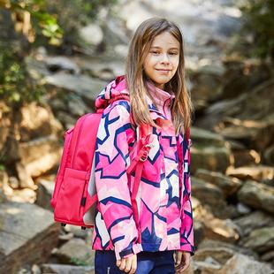 探路者儿童冲锋衣 秋冬户外男女童保暖两件套冲锋衣加厚外套94059