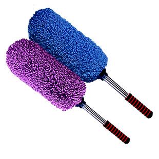 汽车伸缩式蜡刷 车用蜡拖 洗车除尘掸子擦车拖把清洁工具扫雪用品