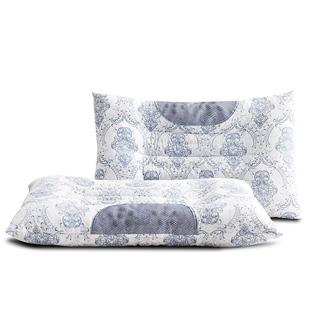 决明子磁疗保健枕头一对装家用成人颈椎护颈枕芯单人学生枕头2只