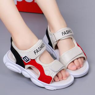 儿童凉鞋夏季女童鞋子时尚小熊鞋2019新款公主鞋中大童沙滩鞋男童