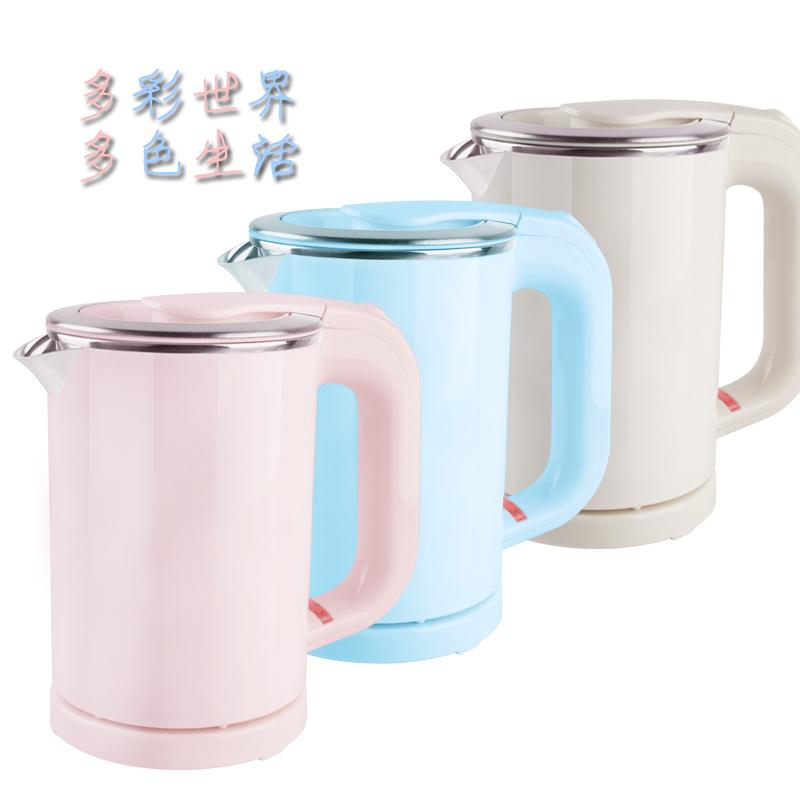 出国旅行不锈钢迷你小型便携烧水杯0.5L电热水壶 烧水壶酒店