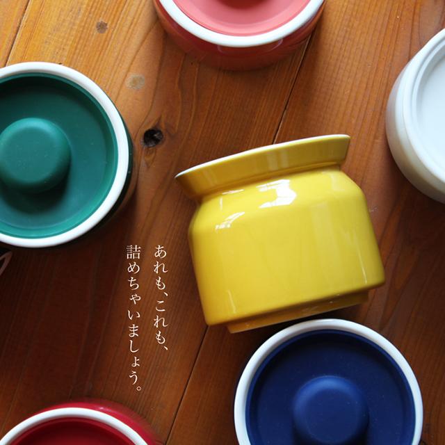 現貨日本進口矽膠蓋密封陶瓷罐食品罐咖啡罐疊加儲物罐廚房調味罐