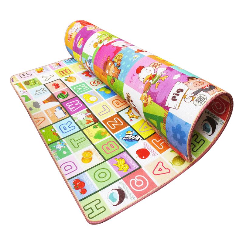 宝宝爬行垫加厚婴儿客厅家用爬爬垫无味可折叠拼接泡沫儿童地垫子