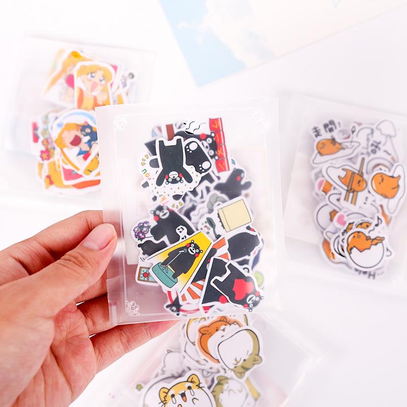 喵君  创意可爱手帐装饰素材和纸贴纸包表情贴纸贴画日常森女美食