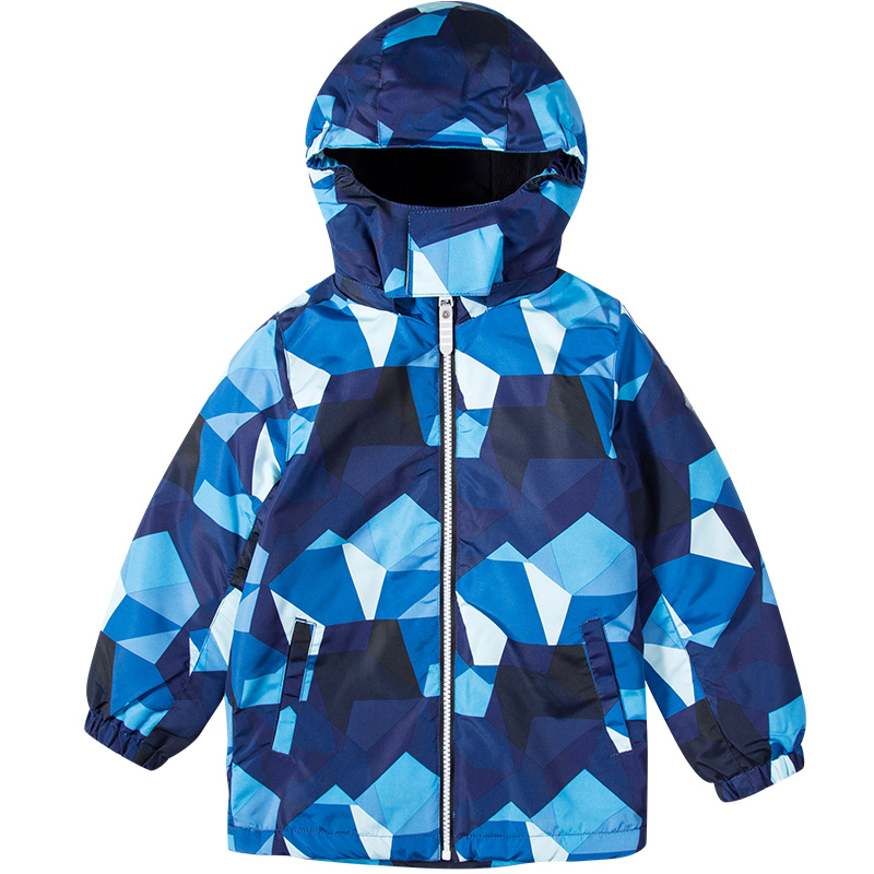 水孩儿男童加绒秋冬装风衣2019新款儿童冲锋衣户外女童厚风衣外套