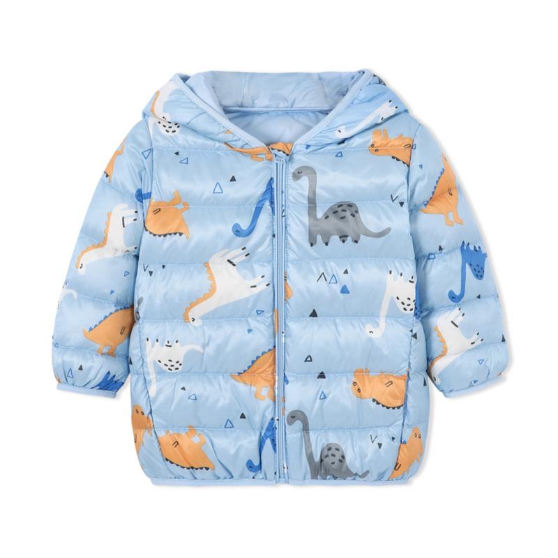 巴拉巴拉婴儿幼儿宝宝羽绒服轻薄女童小童冬2018新款童装儿童外套