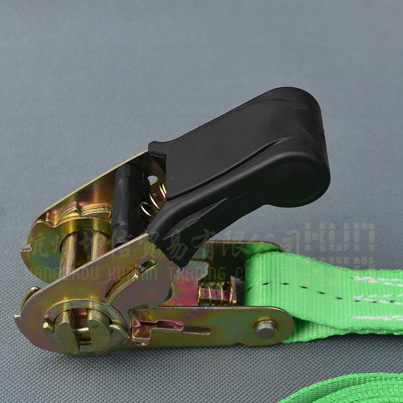 包邮1寸25mm包胶拉紧器塑柄紧绳器棘轮紧固器货物绑带无钩捆绑带
