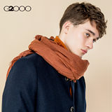 G2000 Fashion Stand Collar Men's Wool Coat Long Length Thick Warm Trend Hong Kong Style Woolen Coat